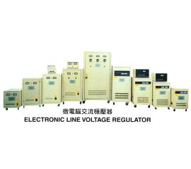 ELECTRONIC LINE VOLTAGE REGULATOR