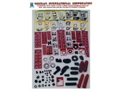 Motorcycle parts - gasket, rubber parts