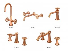 Industrial loft style bathroom faucets, series 11