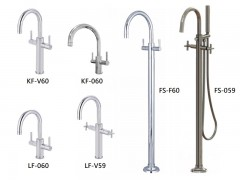 Modern style faucet, Series 59 & 60