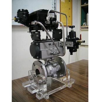 多段式可调整气动执行器