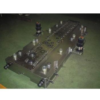 压缩机马达内外导柱型式-下模座&步进马达&减速比