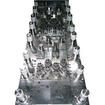 四排压缩机马达模具