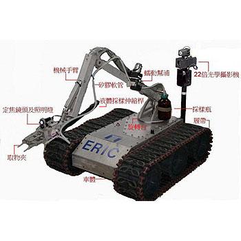 遥控侦测采样机器人