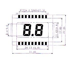 TN型液晶显示模块