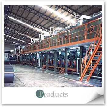 湿式PU合成皮制造机整厂设备